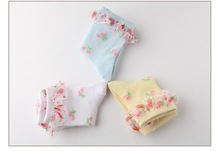 2016 NEW Thin summer baby girls kids toddler white pink cotton lace ruffle princess mesh socks
