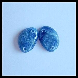 Blue Kyanite Gemstone women earring jewelry,Charms Women Earrings Jewelry Gift Gem Customized,22x16x5mm,7.8g