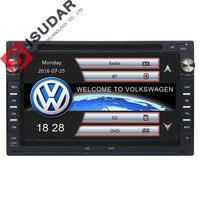 Two Din 7 Inch Car DVD Player For VW Volkswagen PASSAT B5 MK5 GOLF POLO 2004