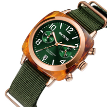 Clássico cinta de náilon relógios masculinos do esporte marca de luxo skone calendário relógio de quartzo cronômetro masculino militar relógio de pulso