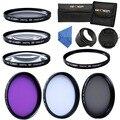 72mm Macro Close Up Filter Set UV Ultraviolet Protector CPL FLD Lens Filter Kit For Nikon D7000 D3000 D3200 D3300 D5000 18-200