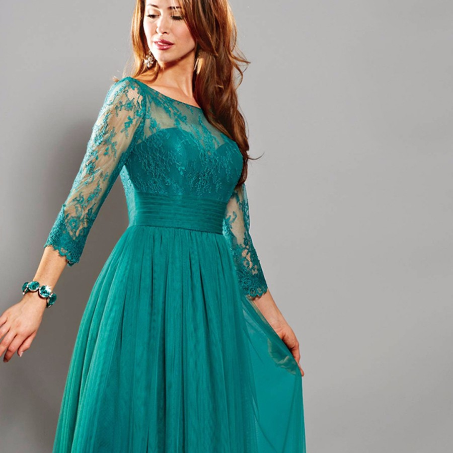 Modest-emerald-green-mother-of-the-bride-dresses-evening-party-gowns-with-long-sleeves-for-wedding (2)