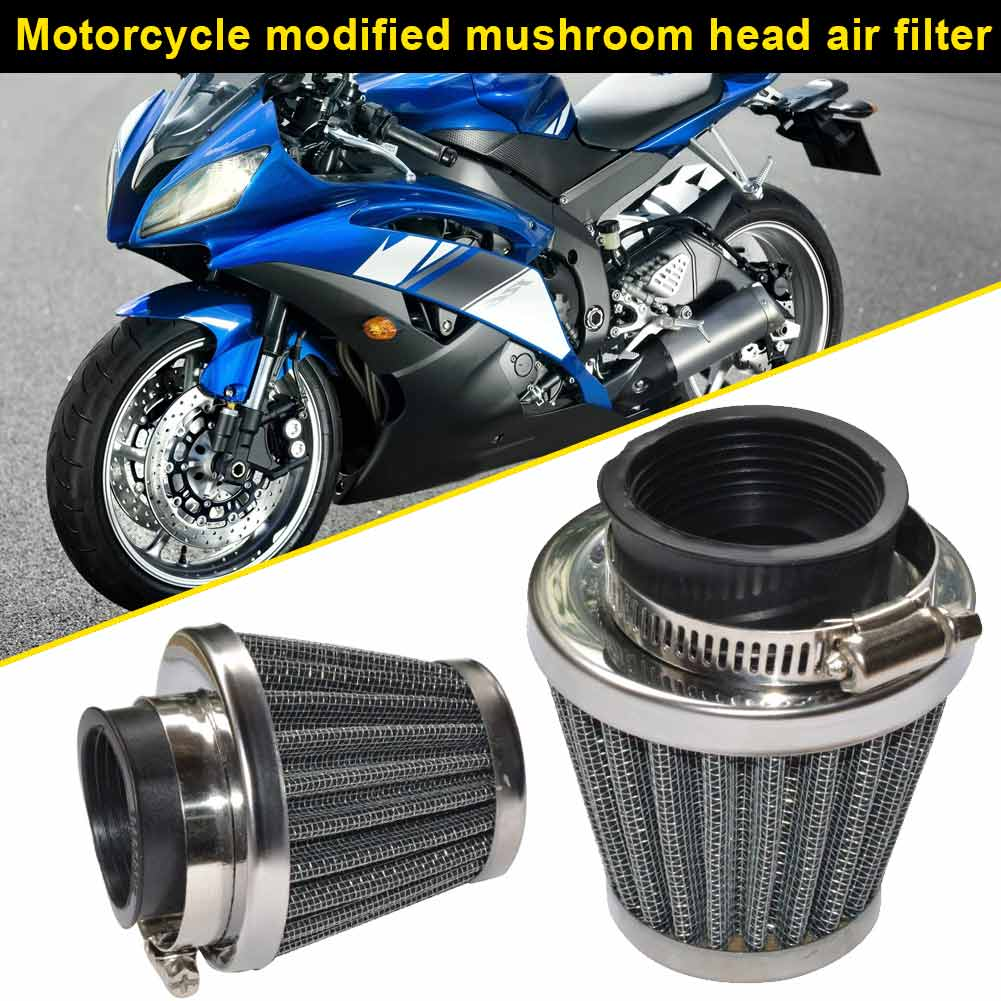 Newest Motorcycle POD Air Filter Cleaner 35/39/42/44/48/50/52/54/60mm Filters for ATV Pit Dirt Bike CSL2018