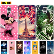 silicone case For Samsung Galaxy S5 coque bumper soft tpu ph