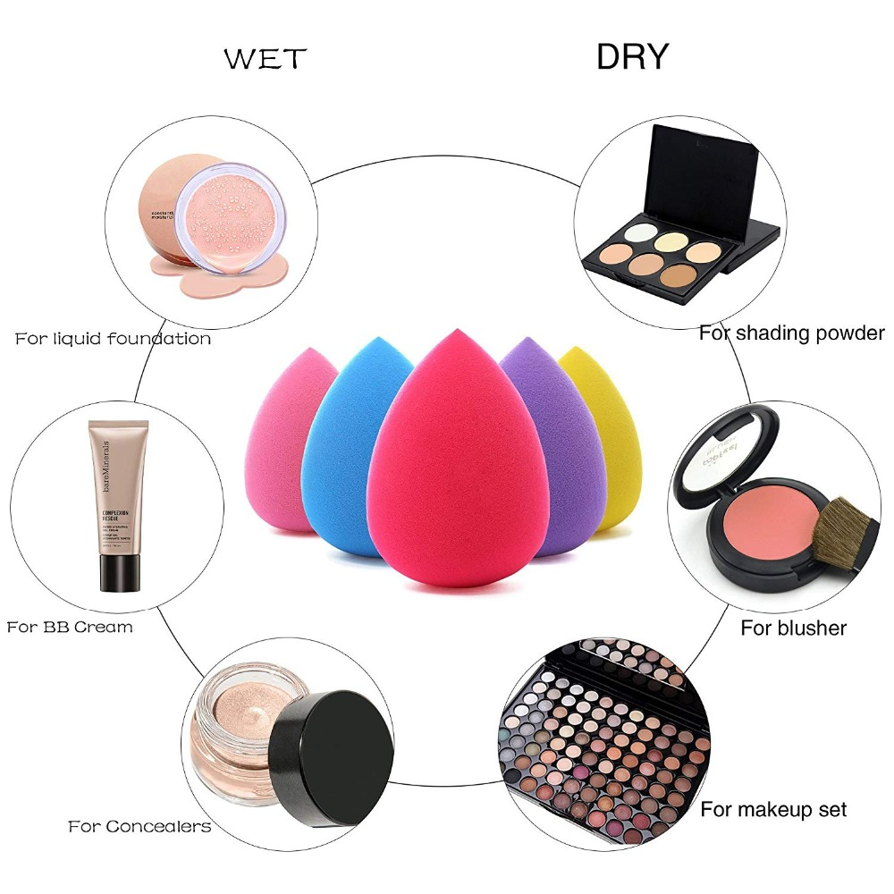 The Cheapest Price Portable Size Smile Face Silicone Makeup Puff Women Professional Liquid Foundation Bb Cream Cosmetic Puff Transparent Lovely Luster Beauty Essentials