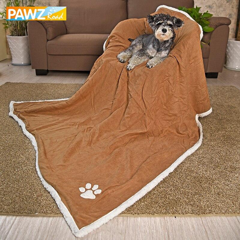 Luxury Large Pet Blanket Super Soft Suede Fleece Blanket