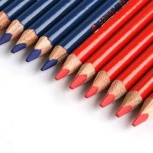 MARCO Color Pencil Double-ended Lapis De Cor Red Blue Marker