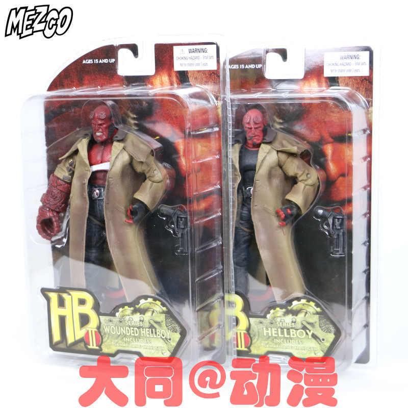 NEW hot 17 cm coletores de Hellboy ação brinquedos figura boneca com caixa de presente de Natal
