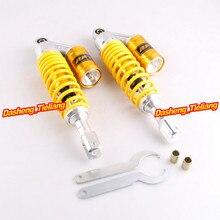 350 мм 1 Пара Задние Потрясений Заменить Амортизаторы Штифт Для Honda CB750 CB 750 Желтый
