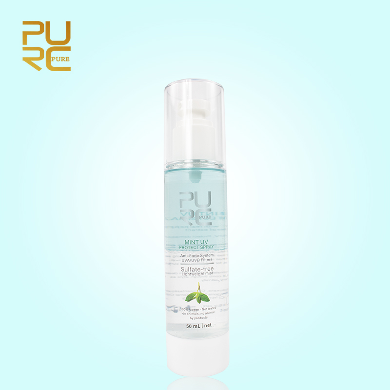 PURC Mint Extract Repair Frizzy Damage Hair Spray Against UV Protect Leave-in Conditioner Replenishes Moisture Hair Care 50ml