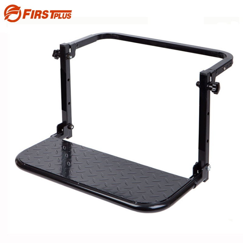 Protable Folding SUV MPV <font><b>Car</b></font> Stairs Tyre Mount Steps Ladder For Vehicle Roof Racks Bike Luggage <font><b>Car</b></font> Travel