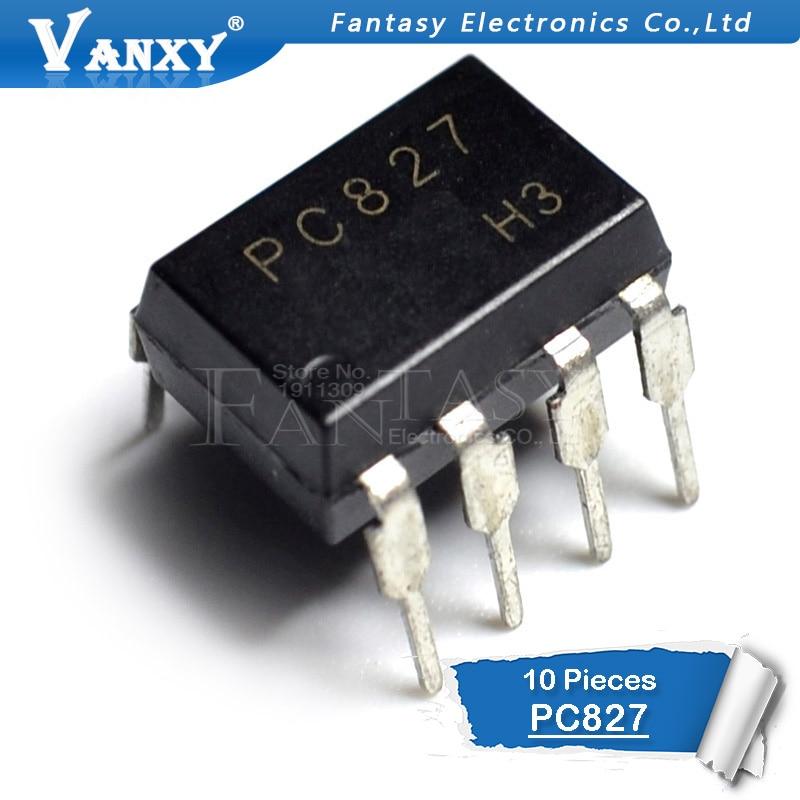 10PCS PC827 DIP-8 PC827 DIP EL827 TLV827 TLV-827 New Original