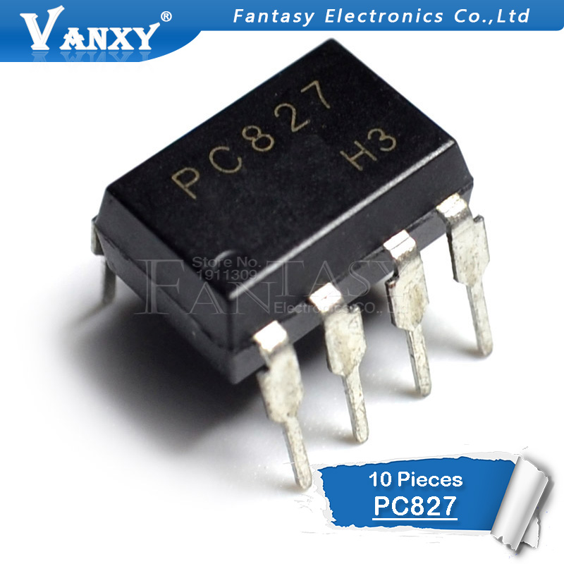 10PCS PC827 DIP-8 PC827 DIP New Original