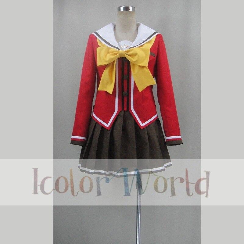 Official Website Charlotte Nao Tomori/yusa Nishimori Hoshinoumi Academy School Uniform Cosplay Costume Quality First