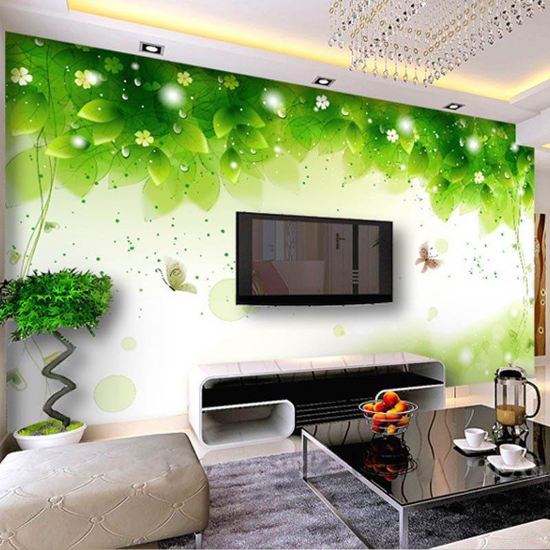 Art Wall Stickers Mural 3d Three-dimensional Wallpaper Entranceway Fabric Wall Paper Tv Background Wall Covering Wall Painting