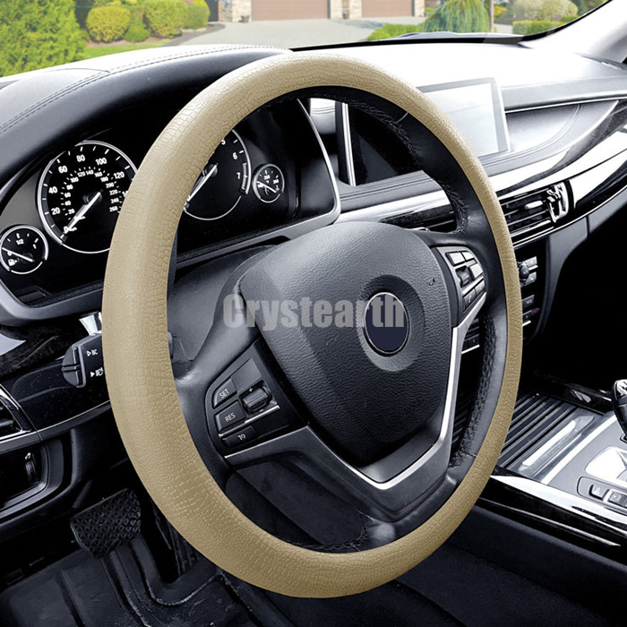 36-40 cm Car Auto Silicone Steering Wheel Glove Cover Soft Auto Steering Covers Accessories Universal For Honda Toyota BMW Jeep