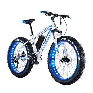 Gordura ebike 26 bicicleta de montanha elétrica pneu gordo neve elétrica ebike 48v li-ion bateria 1500w motor da roda traseira hidráulica E-MTB
