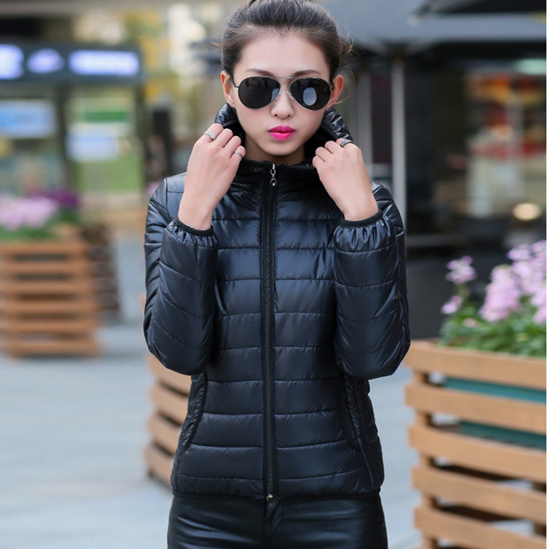 Outwear Spring Warm-Jacket Padded Short Women Cotton And of Section Thin Cultivating