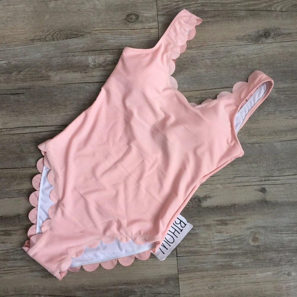 Ny skulpterad baddräkt 2017 Sexig ryggfri baddräkt i ett stycke Sågtand Shape cut out monokini high waist bathing suit
