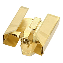 Star Wars Darth Vander's Tie Fighter Robot 3D Metal Puzzle DIY Model Assembly Toy Educational Toys Jigsaw Puzzles Fre Online