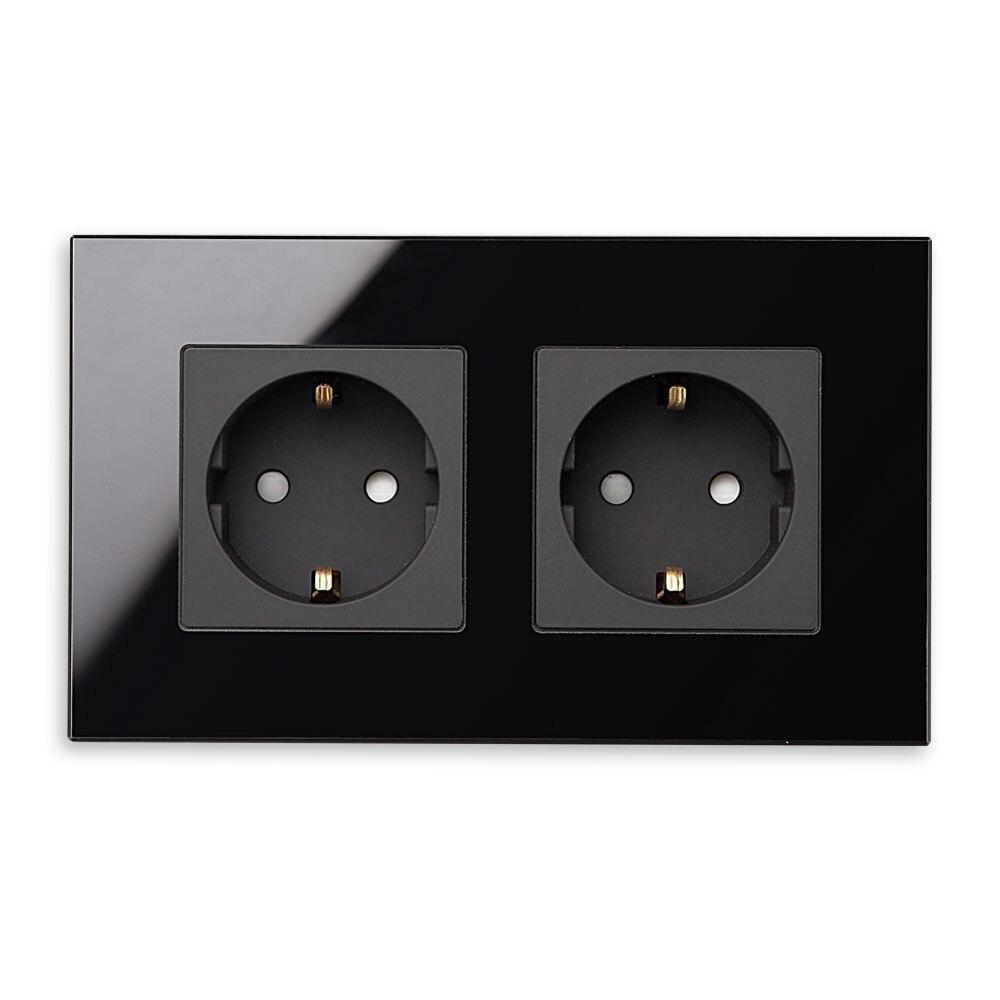 Hot List Produkt BSEED EU Standard Steckdose mit Doppel Rahmen ...