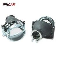 3.0 inch H7Q5 Bixenon car hid Projector lens metal holder h7 model AC xenon kit bulb retrofit lens mofify Diy assembly kit