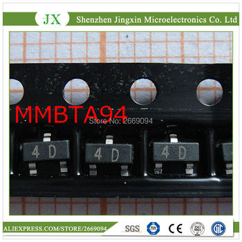 500 unids/lote MMBTA94LT1G MMBTA94 4D SOT-23 nuevo original