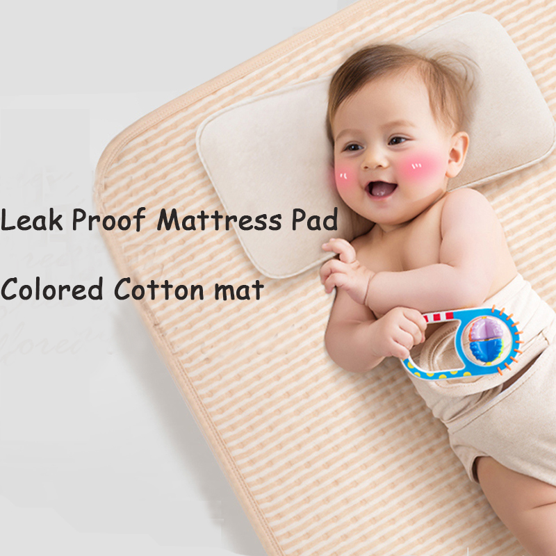 Original Slip-Resistant Leak Proof Mattress Pad Protector Bed Wetting & Incontinence Cover Kid Waterproof Washable Changing Pads