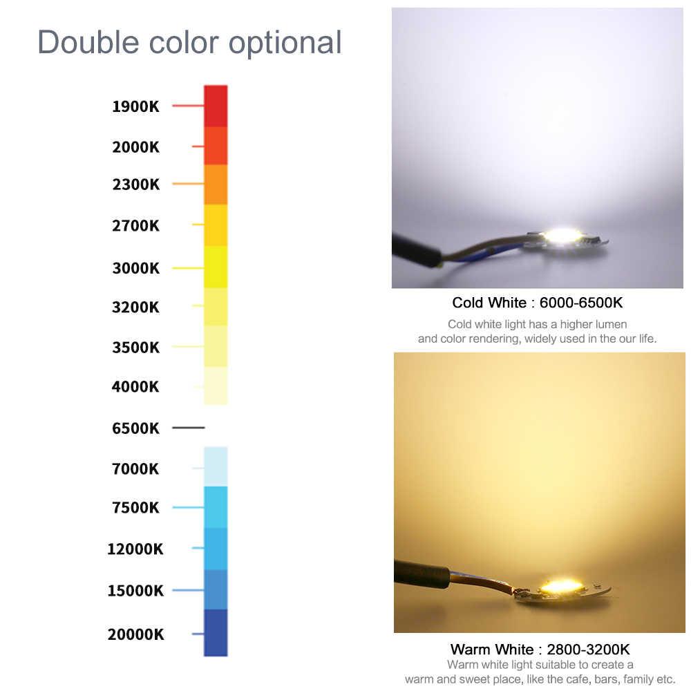 COB lámpara LED en Chip 3-9W 10W 20W 30W 50W AC 220V IP65 inteligente IC Lampada LED Bombilla No necesita controlador para luz de inundación LED Chip foco