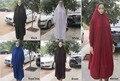 Nuevo Estilo de Las Mujeres Kaftan Vestido de Lycra Maxi Maxi Musulmán Islam abaya Jilbab, el envío libre 8718