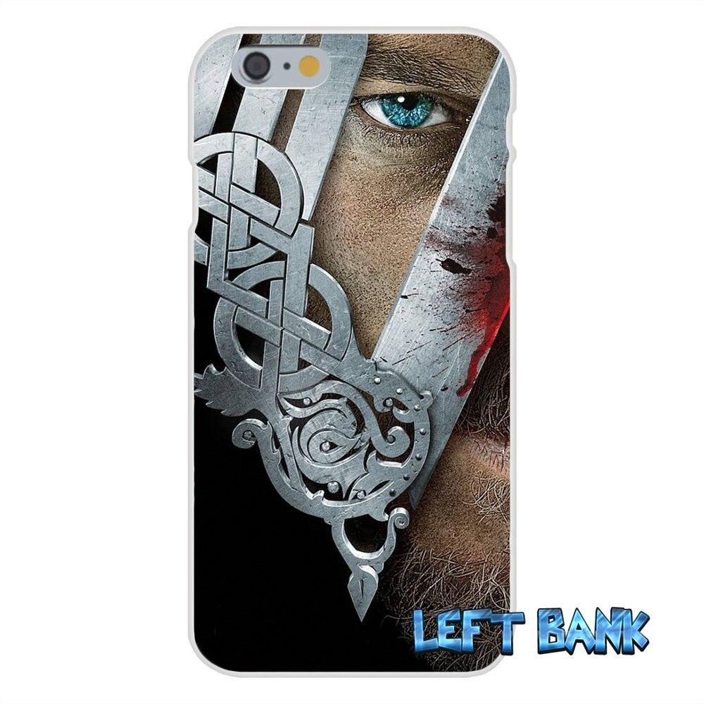 vikings Ragnar Vikings Season 3 TV Series Silicone Phone Case For Samsung Galaxy S3 S4 S5 MINI S6 S7 edge S8 Plus Note 2 3 4 5