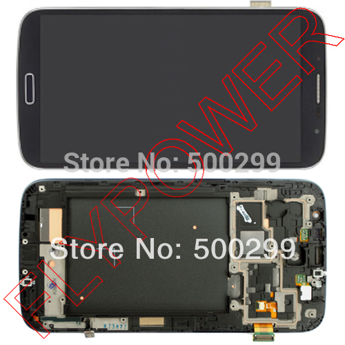 LCD display with Touch Screen Digitizer +Frame Assembly For Samsung Galaxy Grand DUOS i9082 blue color free shipping  цены