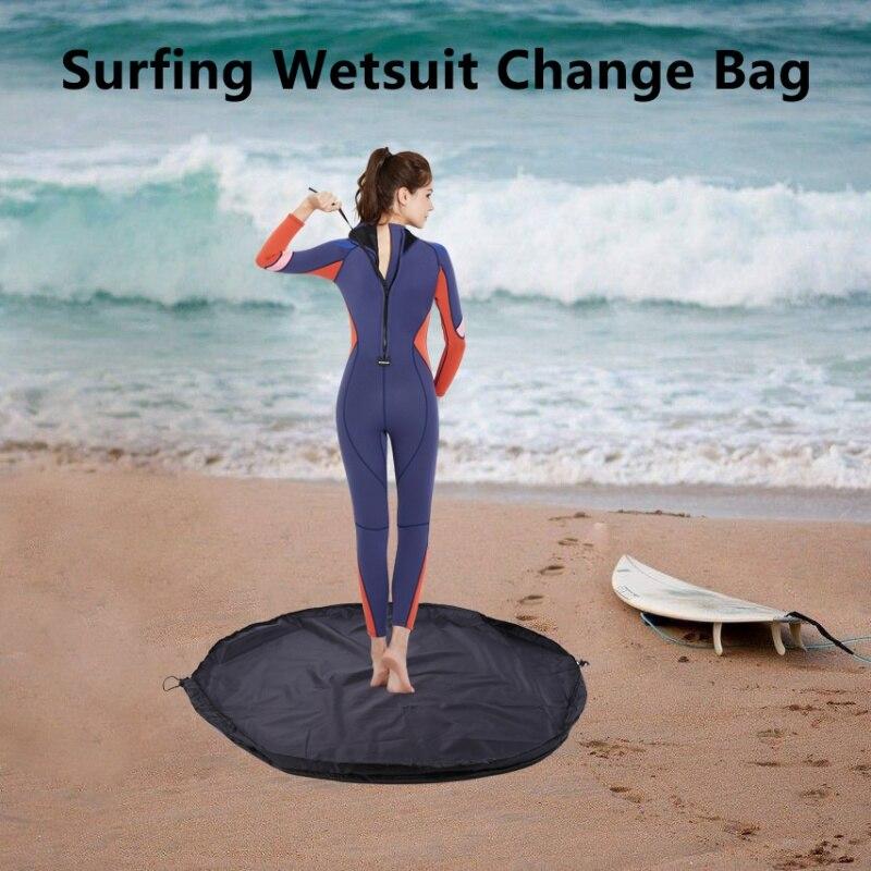 Surf Wetsuit Diving Suit Change Mat Receive Bag Waterproof Nylon lskn 0MJ/&@