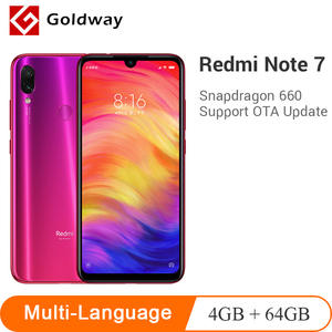 Global ROM Xiaomi Redmi Note 7 Mobile Phone 4 GB RAM 64 GB ROM Snapdragon 660 Octa