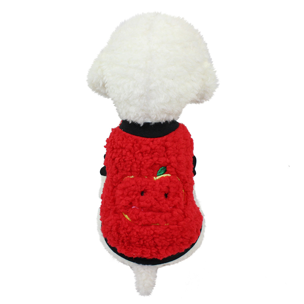 Dog Clothes Cute Dog Cat Puppy Clothing Small Puppy Soft Soild Cotton Pet Clothes Pet Dog Coat For Small Pet products ropa perro thumbnail