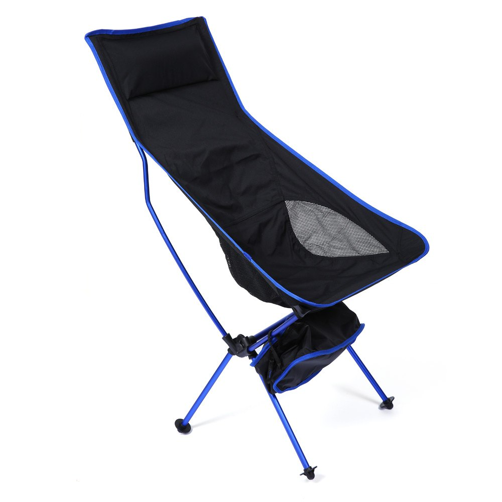 Outlife Detachable Aluminium Alloy Extended Chair Folding Fishing Chair for Fishing Camping Outdoor Activities With 3 Colors