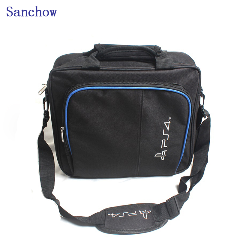 Sanchow PS4 Game Bag funda de lienzo Protect Shoulder Carry Bag - Juegos y accesorios