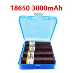 2019 LiitoKala HG2 18650 3000mah аккумулятор для электронных сигарет, высокая мощность разряда, 30A большой ток