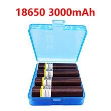 Liitokala hg2 18650 3000mah, baterias recarregáveis, alto poder de descarga, corrente 30a