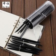 Cut Guest Knife Ball Pen Oil Pencil Express Box Open Blue 0.7 Logistics  40pcs/bag