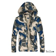 24934d1efcf Vogue Nice Camouflage Jacket Men Plus Size Camo Hooded Windbreaker Jackets  Coat Military Army Jacket Parka Fashion Streetwear