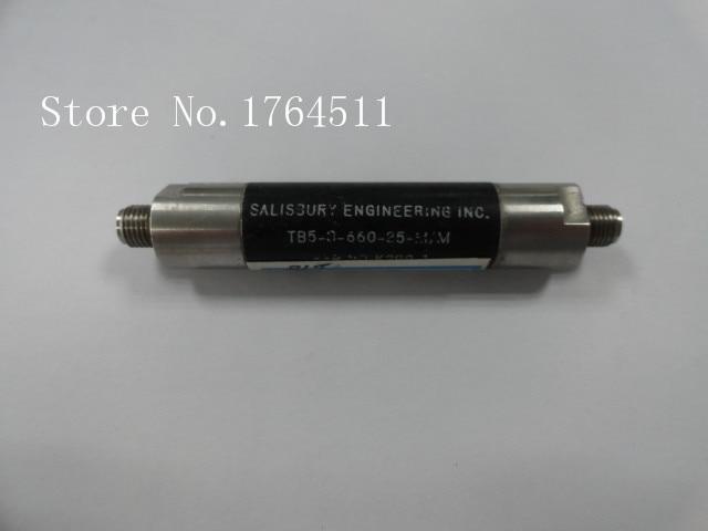 [BELLA] K&L TB5-3-660-25-M/M 533-558MHz RF Microwave Bandpass Filter SMA