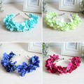 Fashion Good Quality For 1Pcs Floral Flower Garland Crown Headband Hair Band Bridal Festival Holiday Wreath
