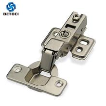купить Door hydraulic hinge Damper Buffer Soft Close Cold rolled steel hydraulic hinges for kitchen Furniture Hardware дешево