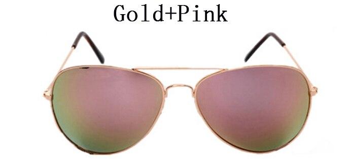 Classic Brand Designer Pilot Sunglasses Women Fashion Driver Sun Glasses Men UV400 Mirror Aviador Sunglasses Male Female Points
