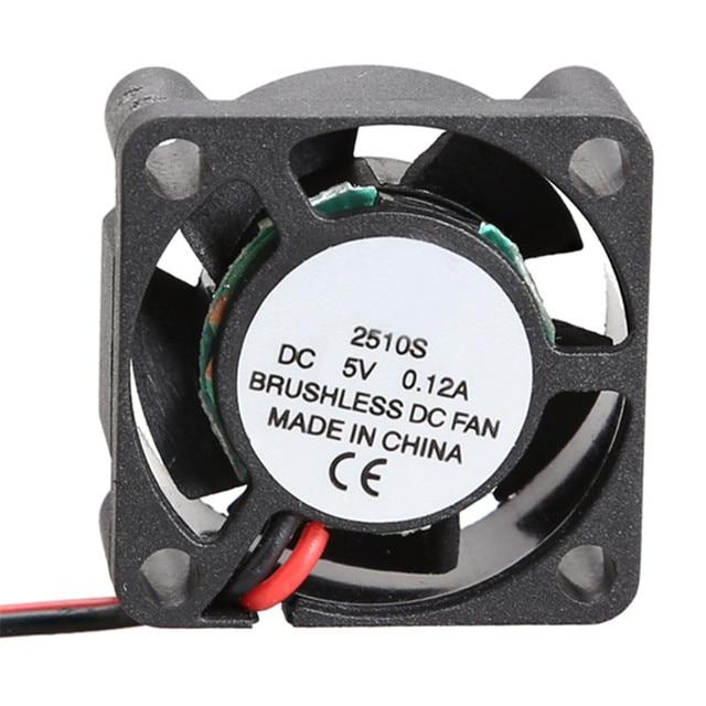5V Cooler Fan Brushless DC Fan 25x25x10mm Mini Cooling Fan Radiator For Computer PC CPU Case Cooling