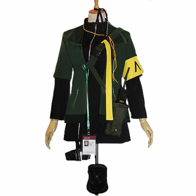 Girls Frontline UMP40 Cosplay Carnaval Costume Halloween Christmas Costume With Bag