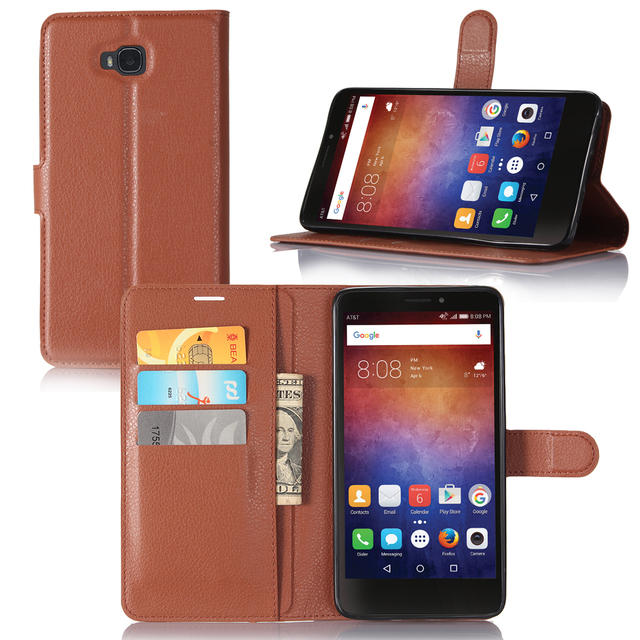 book style wallet leather Case cover for HUAWEI Ascend XT H1611 6.0 INCH case with card slots holders phone stand function