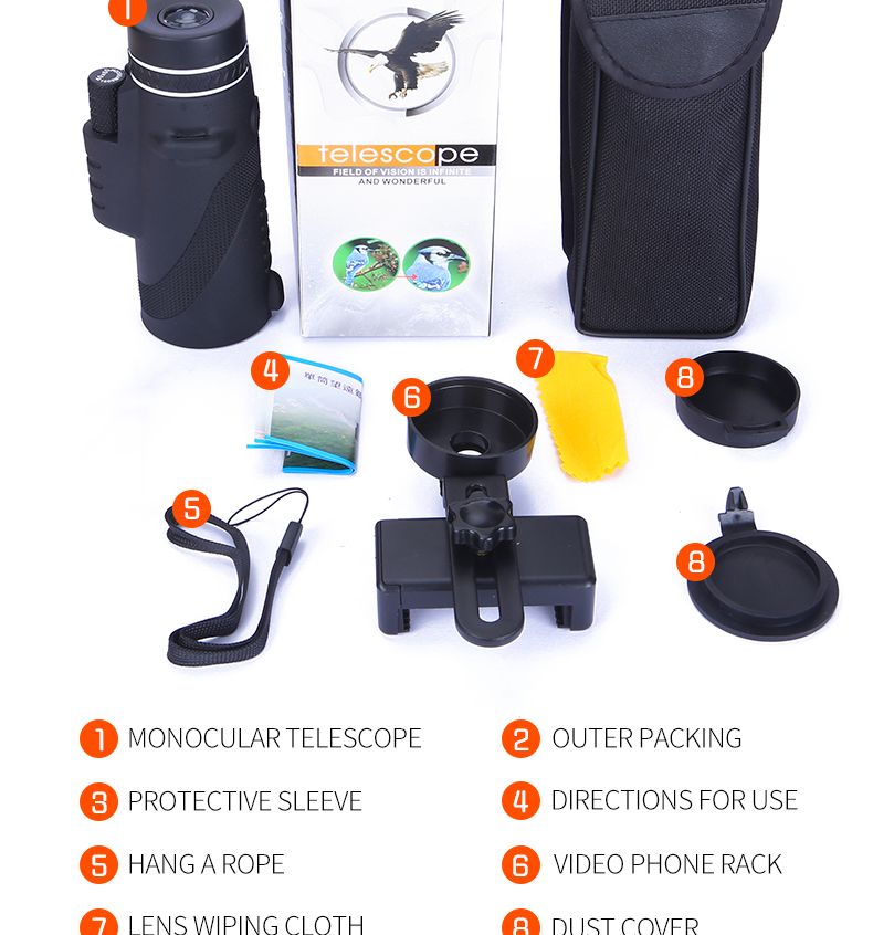 Powerful Military Telescope for Smartphone