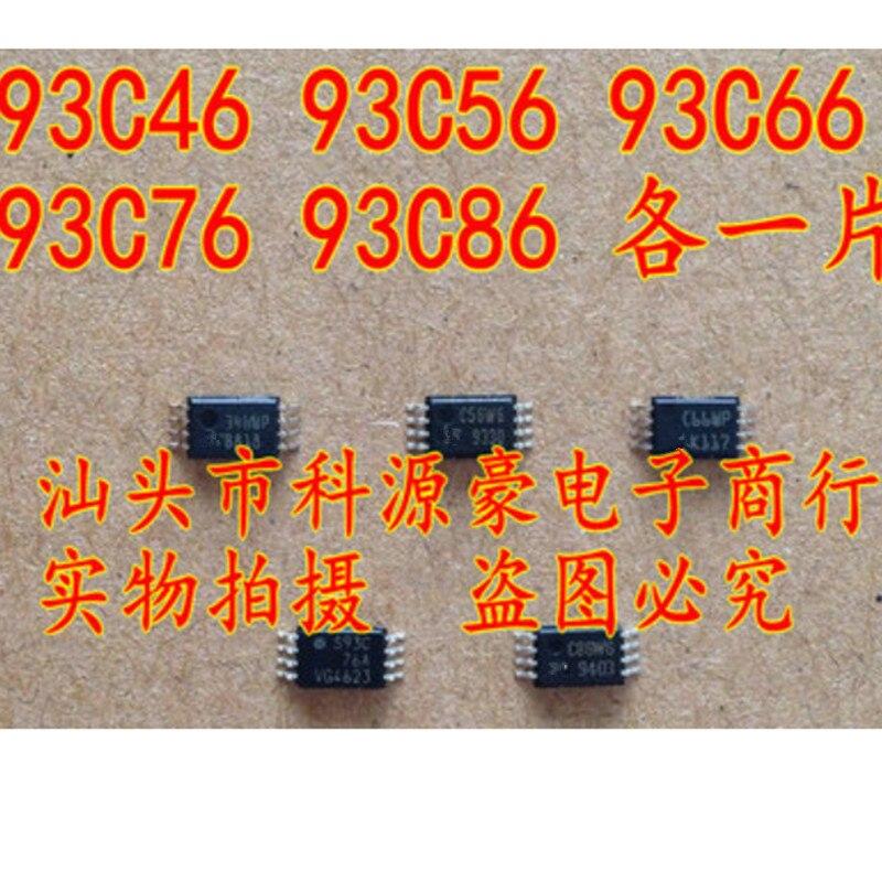93C46 93C56 93C66 93C76 93C86 TSSOP8 each 1pcs C56WP C66WP AT46 346WP S93C76A C86W6 memory chip 93C46 93C56 93C66 93C76 93C86 TSSOP8 each 1pcs C56WP C66WP AT46 346WP S93C76A C86W6 memory chip